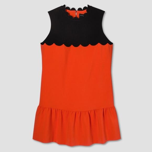 Victoria Beckham for Target Dresses & Skirts - Victoria Beckham for Target Orange Scallop Dress